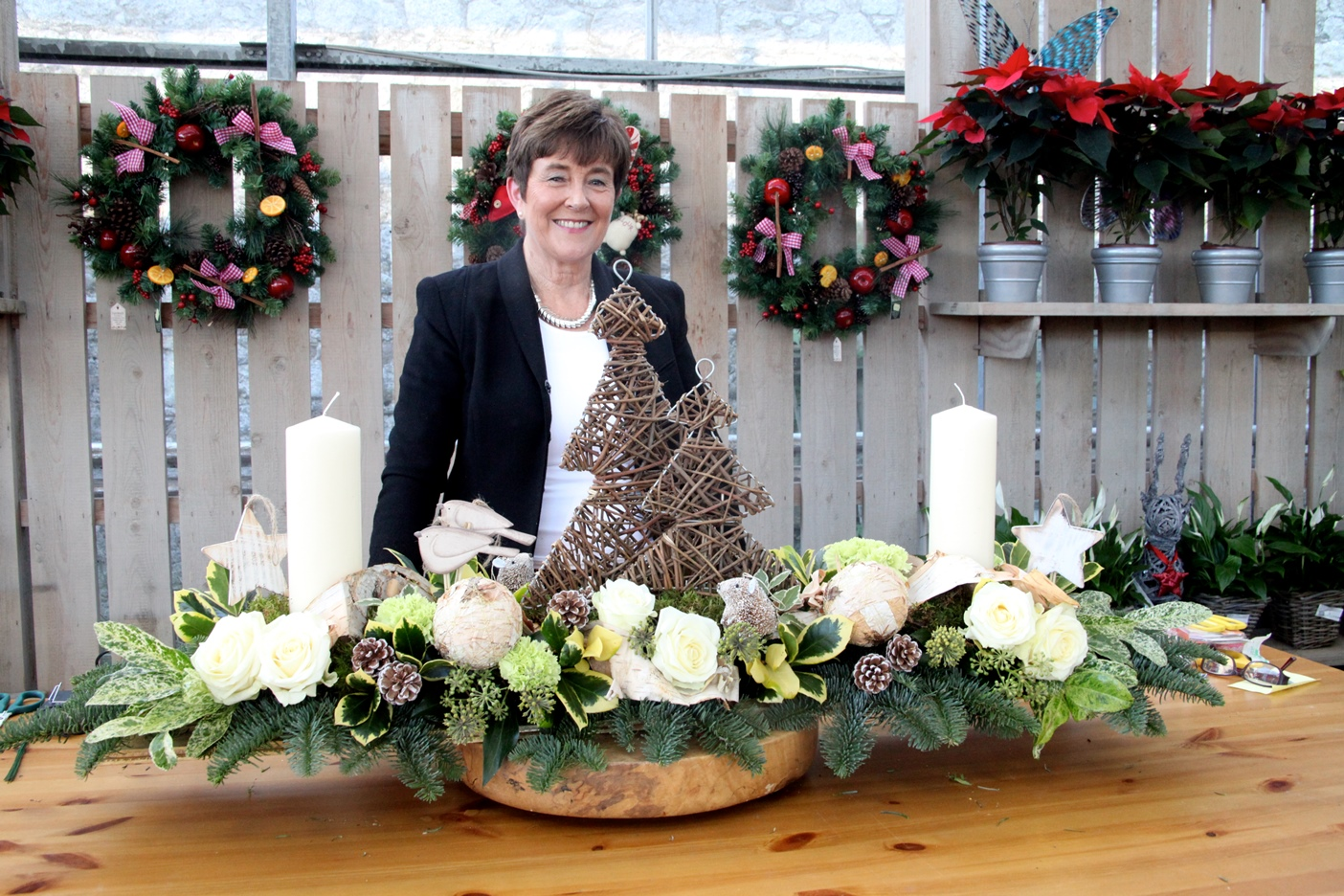 Diy Christmas Floral Art With Carol Bone At Powerscourt